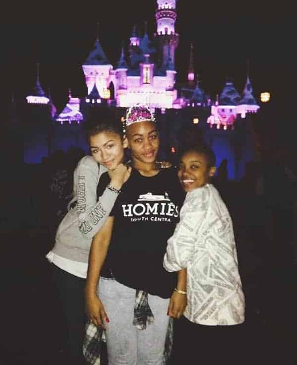 Zendaya posted picture on Instagram with her sisters three years ago