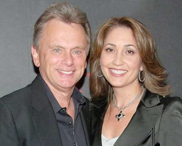 Lesly Brown and her husband Pat Sajak