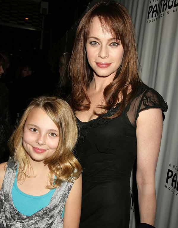 Melinda Clarke with her daughter Catherine Grace Mirich