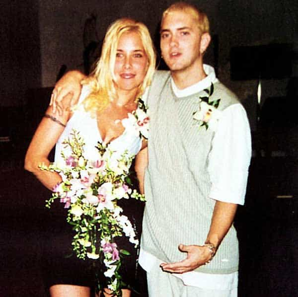 Whitney Scott's mother Kimberly Anne Scott and Eminem(Father)