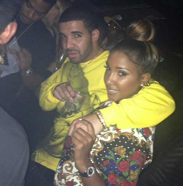 Bernice Burgos and Drake spotted dating in Australia