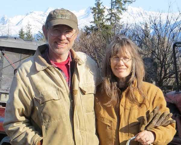 Charlotte Kilcher was seen together with her husband Otto The Alaska