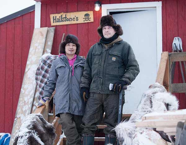 Chip And Agnes Hailstone in Life Below Zero
