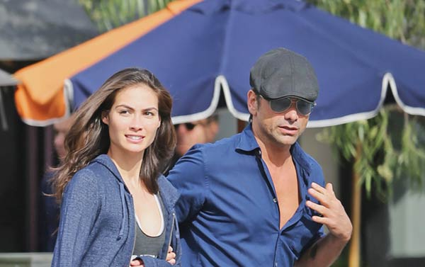 John Stamos with his current girlfriend Caitlin McHugh