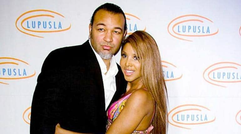 Keri Lewis divorced with his wife Toni Braxton