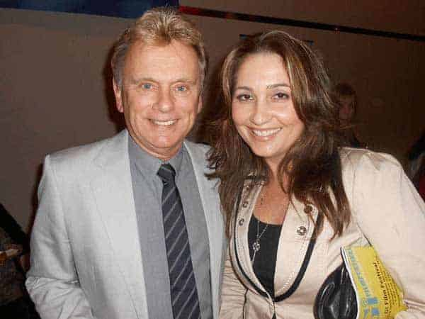 Lesly Brown with her husband Pat Sajak