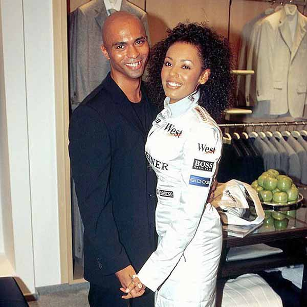 Mel B with her first husband Jimmy Gulzar
