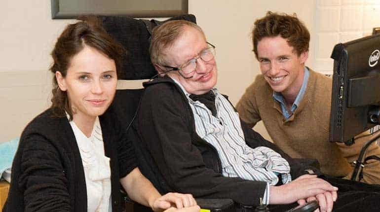 Robert Hawking with father Stephen Hawking and Timothy Hawking
