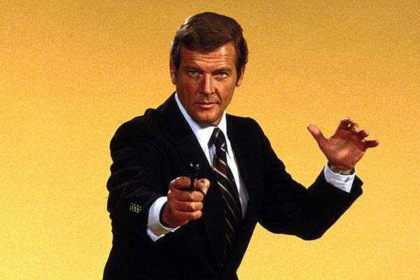 Roger Moore role in James Bond movie