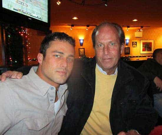Taylor Kinney and his father Daniel Kinney