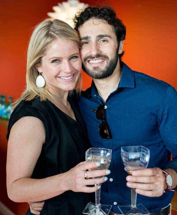 Max Shifrin and his wife Sara Haines enjoying their life