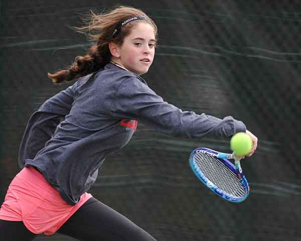 Sean Hannity's daughter Kelly Hannity playing tennis in Cold Spring Harbor
