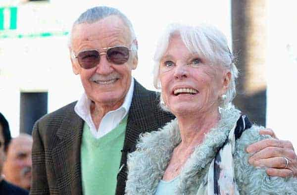 Joan Clayton Boocock seen happily married with husband Stan Lee