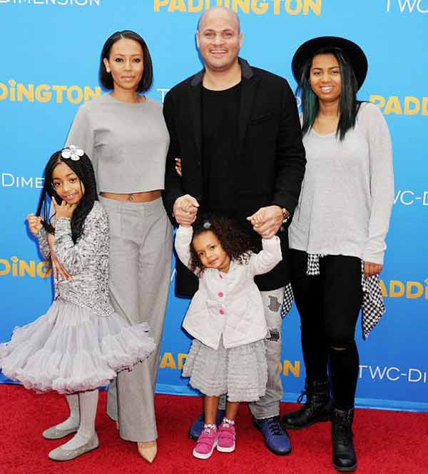 Stephen Belafonte and Mel B Children from their past relationship