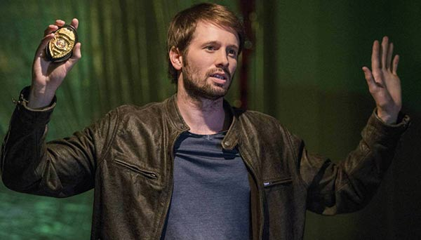 Tyler Ritter role in Arrow series as detective