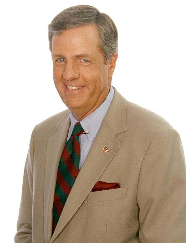 Handsome Brit Hume is a political commentator of Fox News Sunday