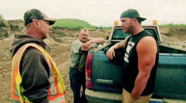 """Reality Show """"Gold Rush"""" cast Rick Ness working with members"""