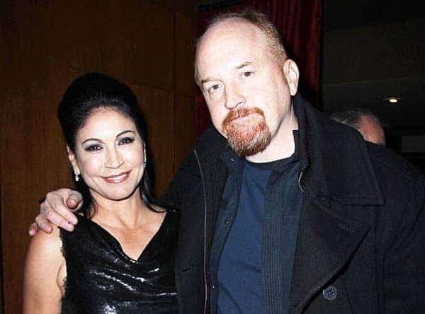 Louis CK With His ex-wife Alix Bailey