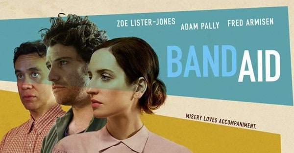 Official Film Poster Of BAND AID blim by Susie Essman