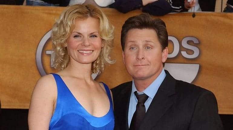 Sonja Magdevsk and Emilio Estevez