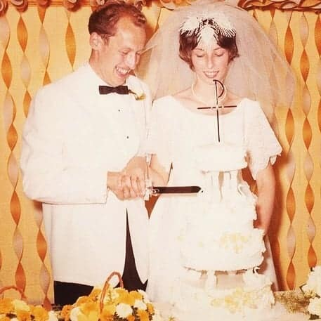 Dr. Pol and Diana celebrating their 50th Marriage Anniversary