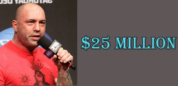 Joe Rogan's Net Worth is Around $25 Million
