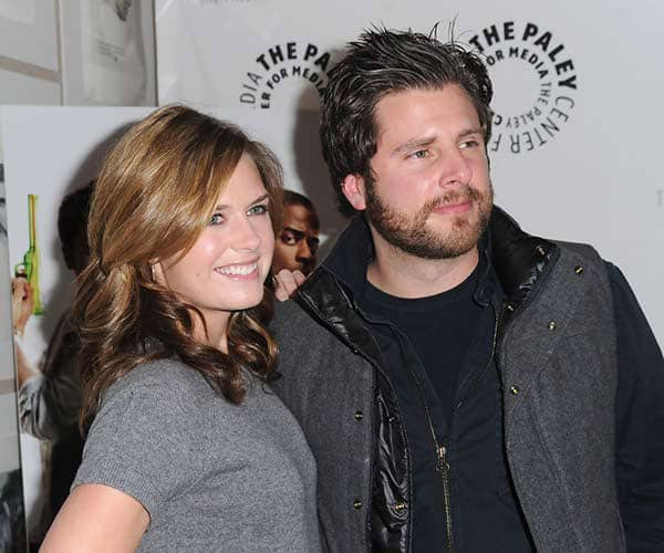Maggie Lawson with Her Husband James Roday