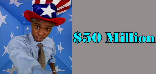 Dave Chappell Net worth income source