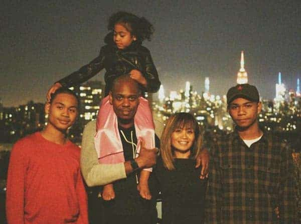 Dave Chappell wife Elaine Chappelle children Sulayman, Ibrahim, Sanaa family full family of Dave