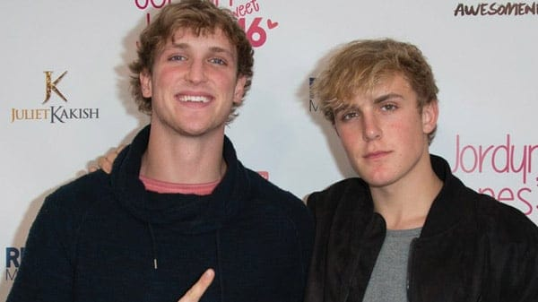 Logan Paul and Jake Paul are brothers and are both fellow you-tubers in real life.