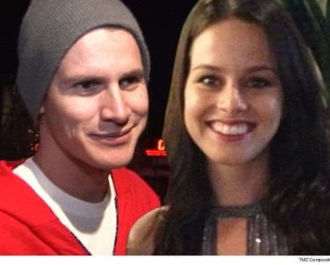 image of comedian daniel tosh with wife carly hallam