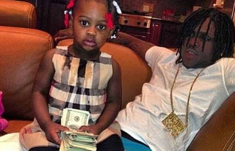 Chief Keef with his Daughter