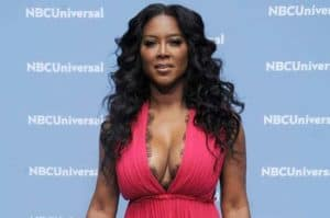 Image of Kenya Moore net worth is $800,000 and yearly salary is $600,000
