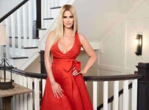 Image of Kim Zolciak Biermann net worth is $1.5 million and per eposide is $80,000.Yearly salary is $960,000