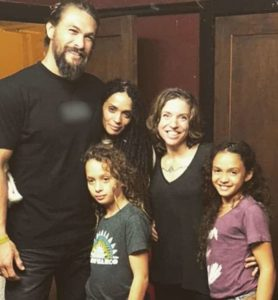Image of Lisa Bonet with their family