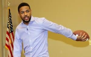 Image of Inky Johnson salary is $10,000 to $20,000