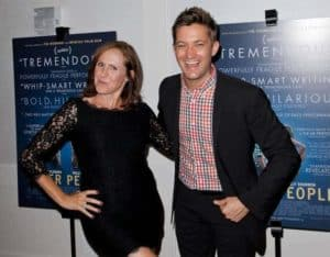 Image of Molly Shannon with his husband (Fritz Chesnut)