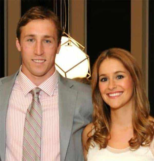 Image of Sean Lee with his wife Megan McShane
