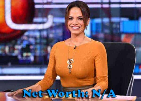 Image of Sports Commentator,Elle Duncan net worth is not available