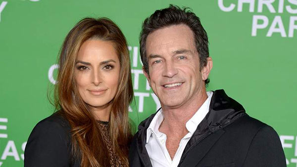 Image of Lisa Ann Russell with her husband Jeff Probst