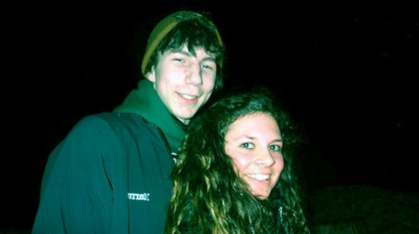 Image of Parker Schnabel with his ex-girlfriend Ashley Youle