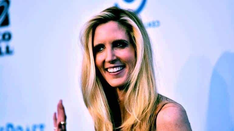 Image of Ann Coulter Married, Husband, Net Worth, Age.