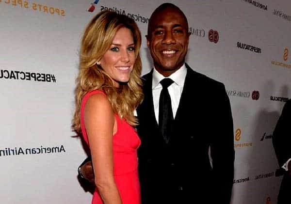 Image of Charissa Thompson with her boyfriend Jay Williams