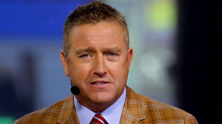 Image of Kirk Herbstreit Net Worth & Salary. Wife Alison Butler, Age, Family, Height.