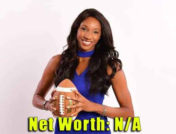 Image of Sports Analyst, Maria Taylor net worth is not available