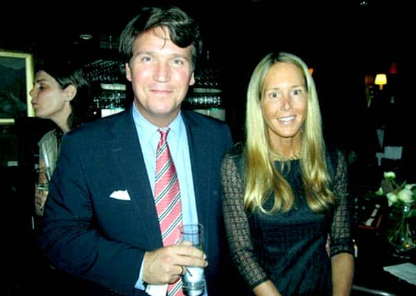 Image of Susan Andrews with her husband Tucker Carlson