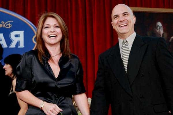 Image of Tom Vitale with his wife Valerie Bertinelli