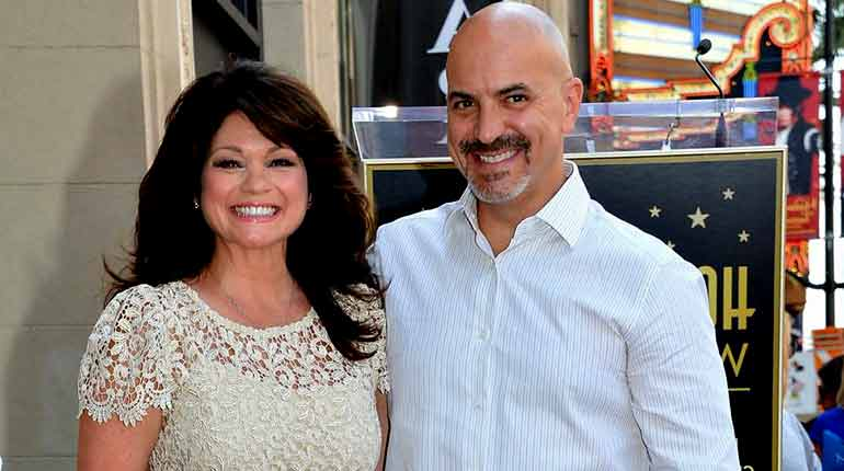 Image of Valerie Bertinelli husband Tom Vitale Net Worth, Wiki-Bio, Age, Facts.