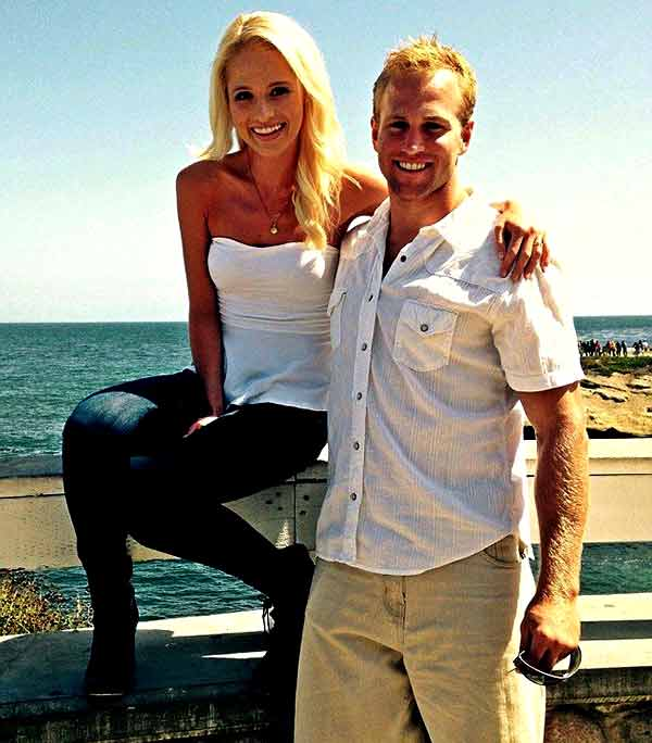Image of Commentator Tomi Lahren with her boyfriend Jerad Christian