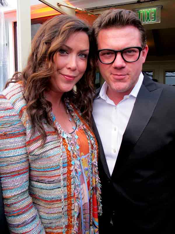 Image of Chef Tyler Florence with his wife Tolan Clark